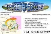 Грузоперевозки по г. Осиповичи,  РБ,  РФ,  до 2 тонн