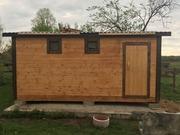Баня Мобильная за 1 день под ключ установка в Осиповичах