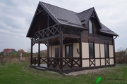 Каркасный Дом под ключ 6х6 м проект Винипег